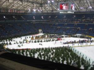 Biathlon auf Schalke im Jahr 2005